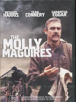 THE MOLLY MAGUIRES - Sean Connery, Richard Harris, Samantha Eggar - DVD