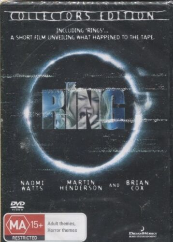 THE RING -  Naomi Watts, Martin Henderson, Brian Cox  - DVD