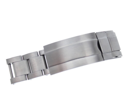 New Stainless Steel Clasp Clips with Rail / Glide lock Clasp For (Fit) Rolex