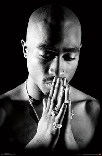 Tupac - Praying Poster - 22x34 - 2pac Rap Music 16324