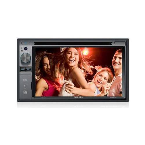 XO Vision XOD1751 - 2-DIN DVD/CD Receiver with 6.2 inch LCD