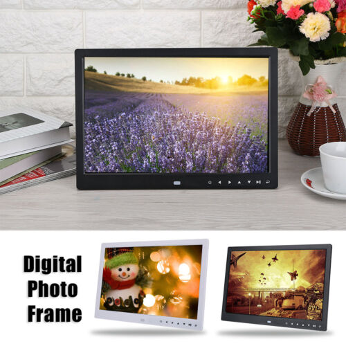 "7/13/15"" HD Digital Photo Frame Album Picture MP4 Movie Player Remote Control"