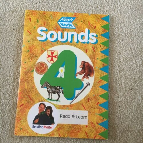 FLASH BOOK, SOUNDS 4, READ & LEARN. LINKS TO SOUNDS. 186953249X