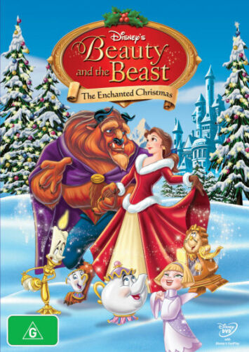 Beauty and the Beast: The Enchanted Christmas  - DVD - NEW Region 4