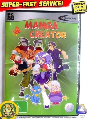 MANGA CREATOR Anime cartoon software Windows PC NEW! Animation comic illustrator