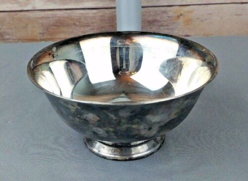 Reed and Barton Silver Plate Paul Revere Silverplate Bowl # 102