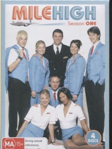 MILE HIGH - SEASON ONE - NEW AND SEALED - 4 DVD's - BOXED SET