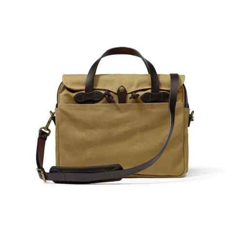 Filson Rugged Twill Original Briefcase 70256 Laptop Bag Tan Style 11070256