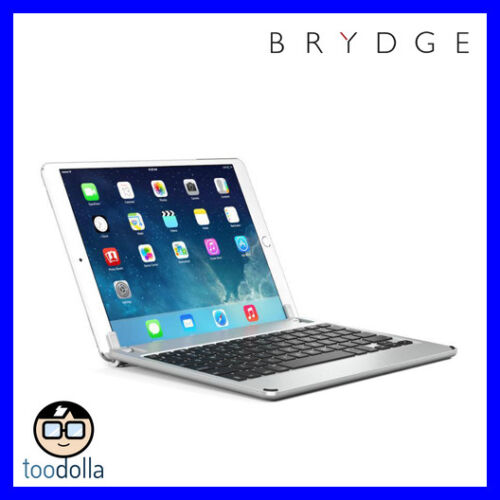 BRYDGE 10.5 Bluetooth Keyboard, backlit keys, iPad Pro 10.5 / Air 3, Space Grey