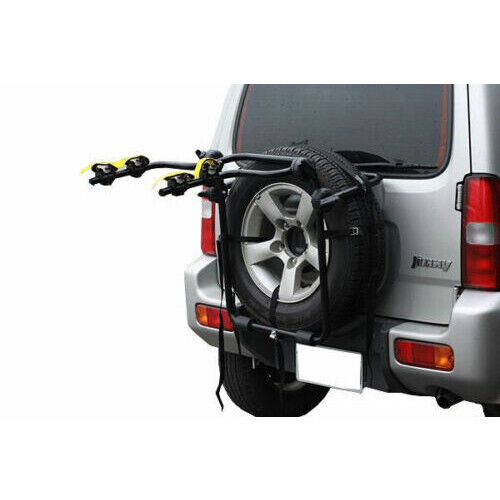 Pacific 2 Bicycle Bike Rack Rear Spare Tyre Carrier Car