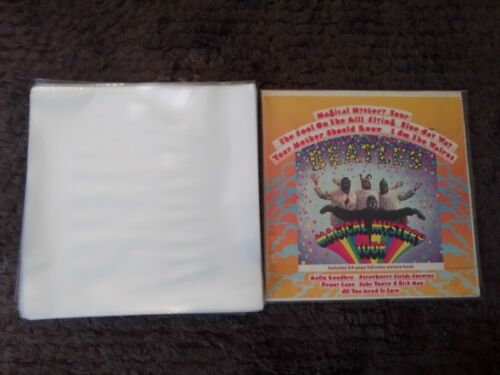 "50 PREMIUM NEW THICK LP / 12"" PLASTIC OUTER RECORD COVER SLEEVES FOR VINYL"