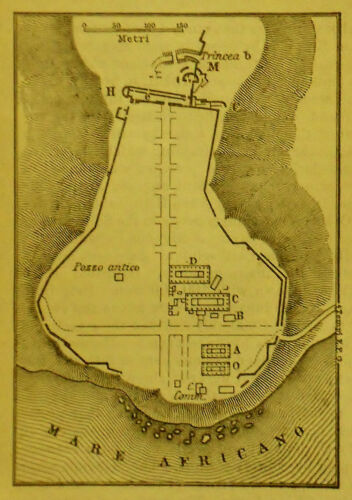 1908:From Handbook  For Travellers=Topografica SELINUS TEMPLE=Scala1:0000