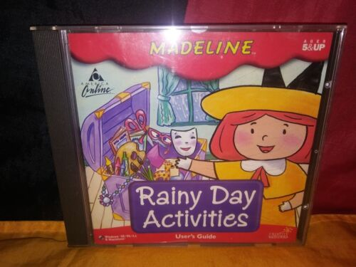 Madeline: Rainy Day Activities PC/ MAC CD-ROM Creative Wonders