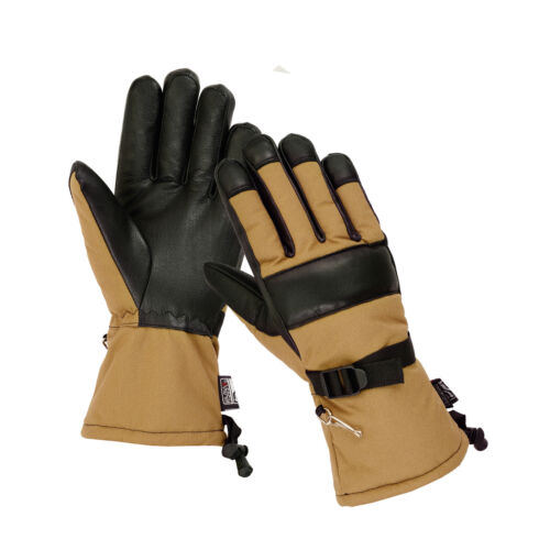 Military Winter Cold Weather Patrol Work Gloves Long Cuff Thinsulate Waterproof