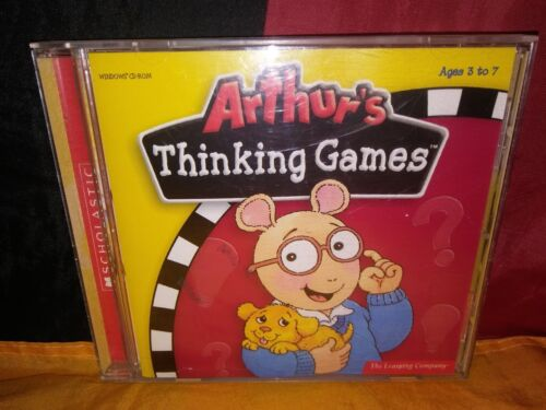 Arthur's Thinking Games PC CD-ROM The Learning Company - New & Sealed