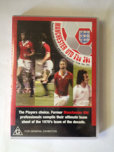 Manchester United in the 70s dvd