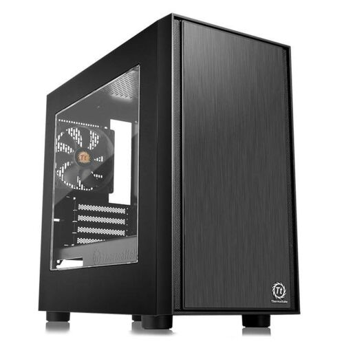 Thermaltake Versa H17 Mini Tower Micro ATX Gaming Computer PC Case with Window