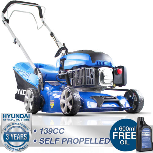 """Petrol Lawn Mower Self Propelled Mulching Lawnmower 139cc 17"""" 43cm 430mm <br/> ☑️3 YR WARRANTY☑️UK STOCK☑️UK AFTER SALES PARTS SUPPORT"""