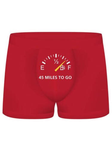 S-Line Funny Boxers 45 Miles To Go Shots Toys