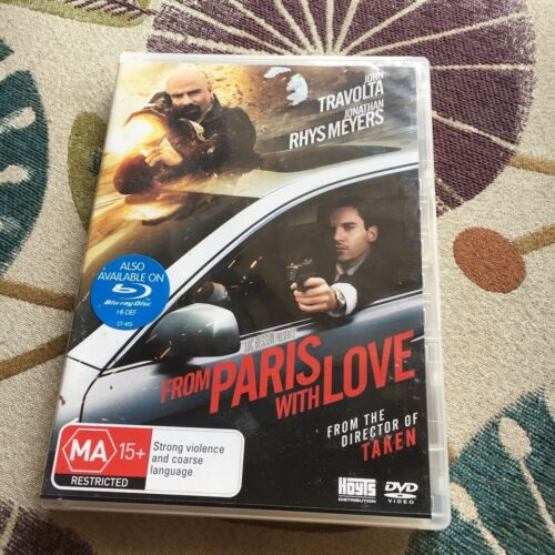 FROM PARIS WITH LOVE DVD.