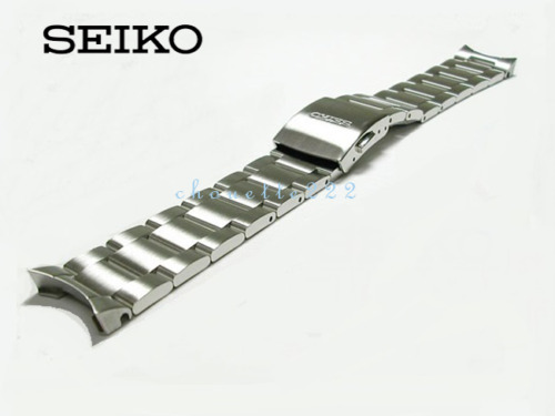 SEIKO D3A7AB 20MM STAINLESS STEEL WATCH BAND FOR SARB013, SARB015, SARB017