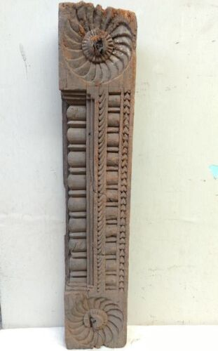 Ancient Antique Door Wooden Panel Beam Estate Wall panel Architecture Decor Rare