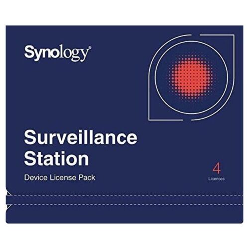 Synology Camera License Pack for 4 Cameras