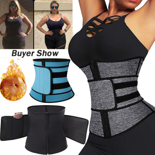 Waist Trainer Cincher Tummy Control Body Shaper Corset Slimming Belt Sport Wrap