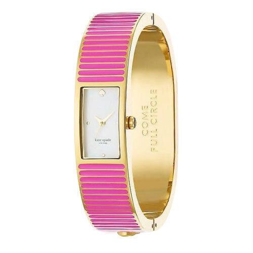 Kate Spade Come Full Circle Pink Carousel Bangle Pink Watch Agsbeagle <br/> Authentic Items Available For Pickup Ready to Ship COD*