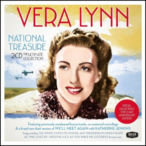 VERA LYNN (2 CD) NATIONAL TREASURE :THE ULTIMATE COLLECTION ~GREATEST HITS *NEW*