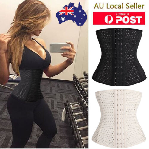 Women Waist Trainer Cincher Tummy Girdle Belt Body Shaper Modeling Strap Trimmer