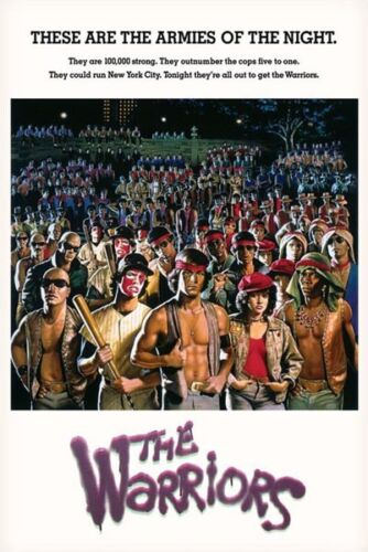 THE WARRIORS - ARMIES OF THE NIGHT - MOVIE POSTER 24x36 - 51287
