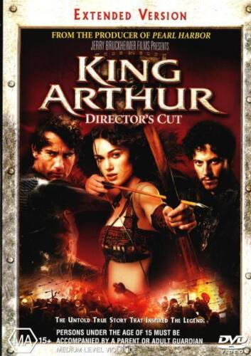 King Arthur (Director's Cut) (Extended Version)  - DVD - NEW Region 4