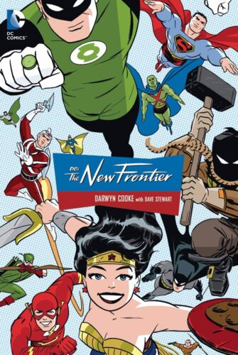 DC The New Frontier Collected GN Darwyn Cooke Justice League Deluxe New NM