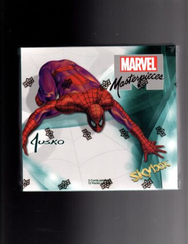 2016 Marvel Masterpieces Joe Jusko Factory  sealed Box
