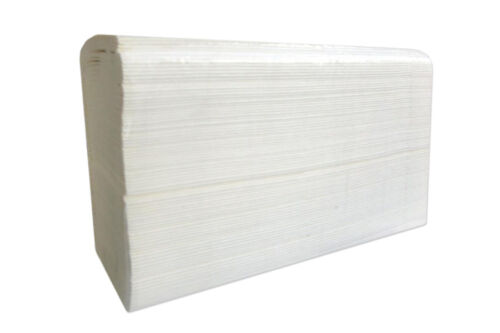 2400 Pcs 24x24 Dispenser Interleave HAND PAPER TOWEL STRONG ABSORBENT Multifold
