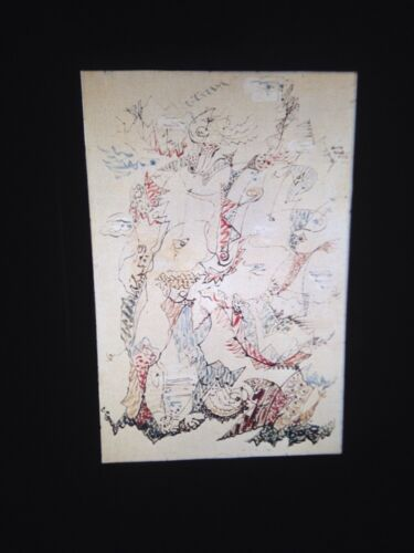 """Andre Masson """"Children Of The Isles"""" French Surrealism 35mm Slide"""