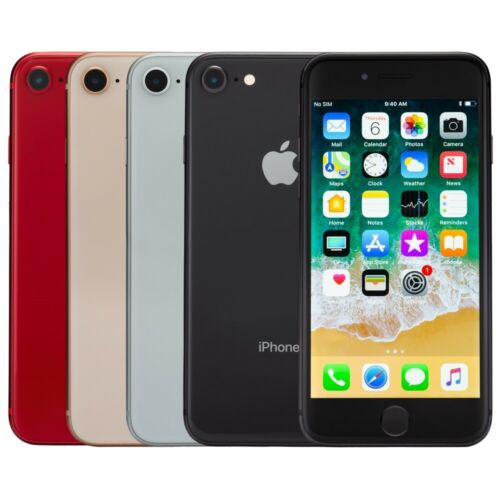 Apple iPhone 8 Smartphone AT&T Sprint T-Mobile Verizon or Unlocked 4G LTE iOS <br/> 30-Day Warranty - Free Charger & Cable - Easy Returns!