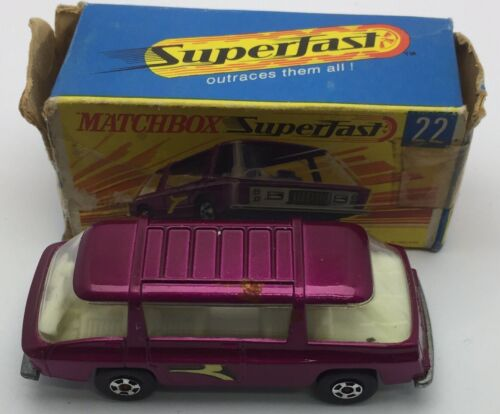 Matchbox voiture miniature Freeman Inter-city Commuter England 1970