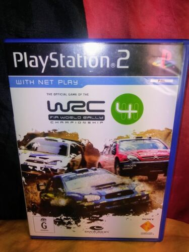 WRC 4: FIA World Rally Championship - Sony PS2 PAL - Includes Manual