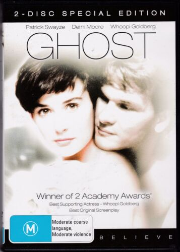 Ghost - Academy Gold Collection (DVD, 2009, 2-Disc Set) - Patrick Swayze