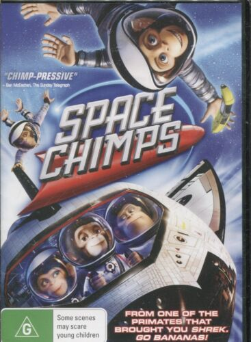 Space Chimps (DVD, 2015) - Andy Samberg, Stanley Tucci, Jeff Daniels