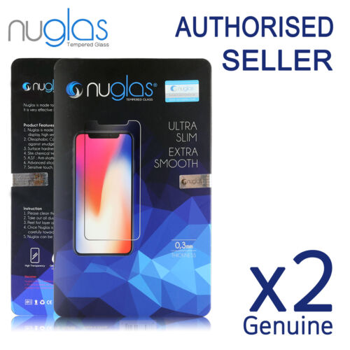 iPhone 12 Mini 11 Pro XS Max XR 8 Plus Tempered Glass Screen Protector For Apple <br/> NEW iPhone 11 Pro XS XS Max XR 100% Genuine Nuglas