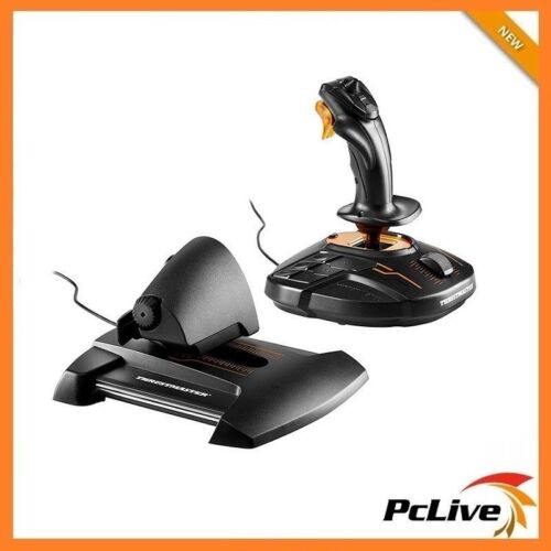 NEW Thrustmaster T.16000M FCS HOTAS Flight Control System For PC Gaming Throttle