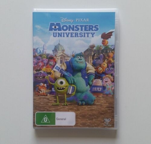 Monsters University Disney Pixar DVD - PAL Aus Stock