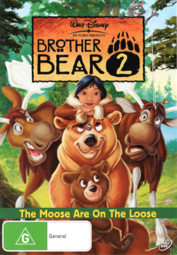 Brother Bear 2: The Moose Are On The Loose  - DVD - NEW Region 4