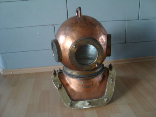 Rare Original Soviet russian 12-bolt Diving Helmet  made in USSR/ 1988