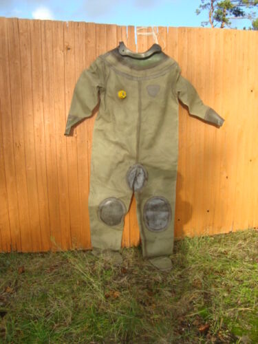 Soviet Diving suit for russian 3-bolt diving helmet with valve (Used)
