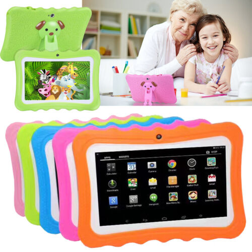 7''inch Quad Core HD Tablet PC Wifi 8GB for Kids Child Boys Girls Sweat-proof