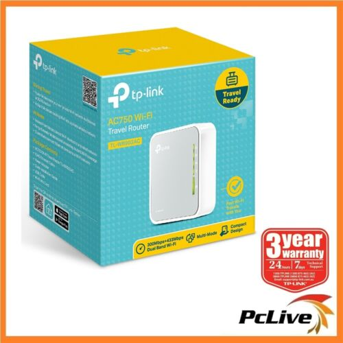 TP-Link TL-WR902AC Dual Band AC750 Wireless Router Access Point WIFI Extender